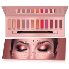 EVELINE EYESHADOW PALETTE 12 COLORS ANGEL DREAM szemhéjpaletta