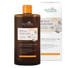 BETULA ALBA CARE tusfürdő arcra és testre természetes nyírfakéreg kivonattal 300 ml