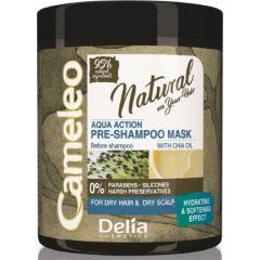CAMELEO NATURAL AQUA Pre-shampoo hajmosás előtti maszk chia olajjal 250 ml