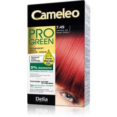 CAMELEO PRO GREEN Tartós hajfesték ammóniamentes 7.45 INTENSIVE RED