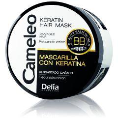 CAMELEO keratinos regeneráló hajmaszk száraz, töredezett hajra 200 ml