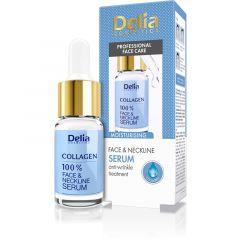 DELIA intenzív ránctalanító és hidratáló arc-és nyakszérum kollagénnel 10 ml