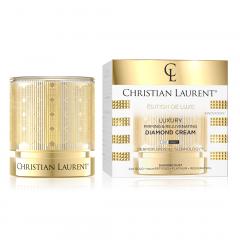 CHRISTIAN LAURENT  LUXURY DIAMNOND CREAM Luxus feszesítő és bőrfiatalítónappali-éjszakai arckrém 50 ml