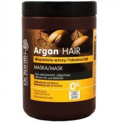 DR.SANTÉ Argan Hair tápláló krémes hajmaszk töredezett hajra keratinnal 1000 ml
