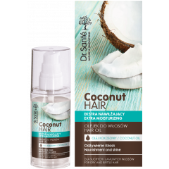 DR.SANTÉ COCONUT HAIR Extra hidratáló hajolaj száraz, töredezett hajra 50 ml