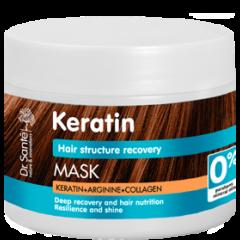 DR.SANTÉ Keratin Hair hajmaszk fénytelen és töredezett hajra 300 ml