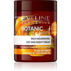 EVELINE BOTANIC EXPERT tápláló nappali és éjszakai arckrém len kivonattal 100 ml