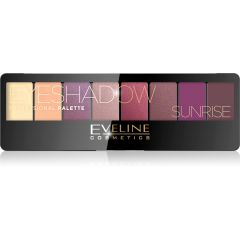 EVELINE EYESHADOW PALETTE 8 COLORS SUNRISE szemhéjpúder paletta