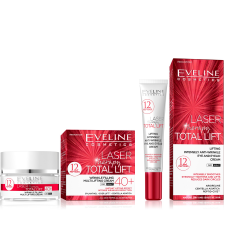 EVELINE LASER THERAPY TOTAL LIFT 40+ ráncfeltöltő multi-lifting arckrém 50 ml + LASER szemránckrém 20 ml