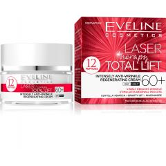 EVELINE LASER THERAPY TOTAL LIFT 60+ ránctalanító és regeneráló arckrém 50 ml