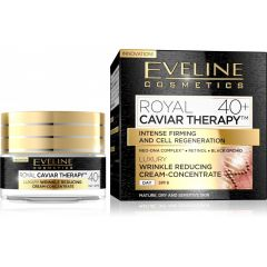 EVELINE ROYAL CAVIAR THERAPY 40+ LUXUS RÁNCTALANÍTÓ KRÉM-KONCENTRÁTUM ARCRA 50 ml