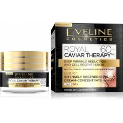 EVELINE ROYAL CAVIAR THERAPY 60+ LUXUS BŐRMEGÚJÍTÓ ARCKRÉM 50 ml