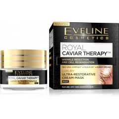 EVELINE ROYAL CAVIAR THERAPY Luxus ultra-regeneráló éjszakai arckrém 50 ml