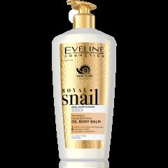 EVELINE ROYAL SNAIL intenzív regeneráló olajos testápoló balzsam 350 ml