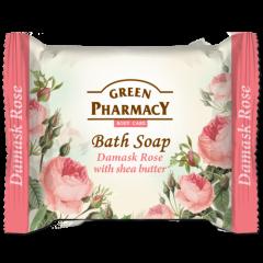 GREEN PHARMACY Gyógynövényes szappan damaszkuszi rózsa és sheavaj kivonattal 100 gr