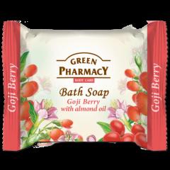 GREEN PHARMACY Gyógynövényes szappan goji bogyó és mandulaolaj kivonattal 100 gr