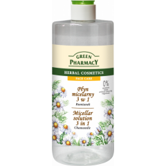 GREEN PHARMACY micellás víz 3in1 kamilla kivonattal 500 ml