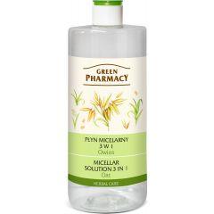 GREEN PHARMACY micellás víz 3in1 zab kivonattal 500 ml