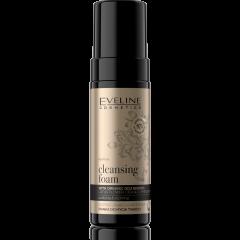 EVELINE ORGANIC GOLD tisztító-bőrnyugtató arclemosó hab organikus összetevőkkel 150 ML