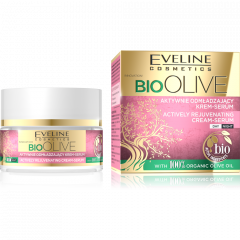 EVELINE BIO OLIVE aktív bőrfiatalító arckrém-szérum 50 ml
