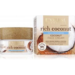 EVELINE RICH COCONUT MULTI hidratáló arckrém 50ML