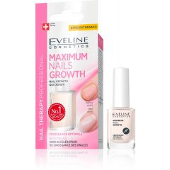 EVELINE NAIL THERAPY MAXIMUM NAIL GROWTH maximális körömnövekedést elősegítő körömkondicionáló 12 ml