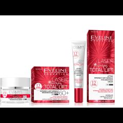 EVELINE LASER THERAPY TOTAL LIFT 60+ ránctalanító és regeneráló arckrém 50 ml + LASER szemránckrém 20 ml