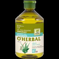 O'HERBAL Hidratáló tusfürdő aloe kivonattal 500 ml