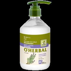 O'HERBAL Relaxáló hatású testápoló levendula kivonattal 500 ml