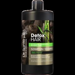 DR.SANTÉ DETOX HAIR intenzív regeneráló és tisztító hajsampon bambuszszénnel 1000 ml